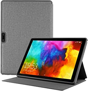 Android Tablet 10 Inch + Protective Case Cover,3G Unlocked Tablets Phone, Android 9.0 Pie Phablet, 2GB RAM,32GB Storage,Dual SIM Cards Slots and Cameras,WiFi,Bluetooth,GPS-Black
