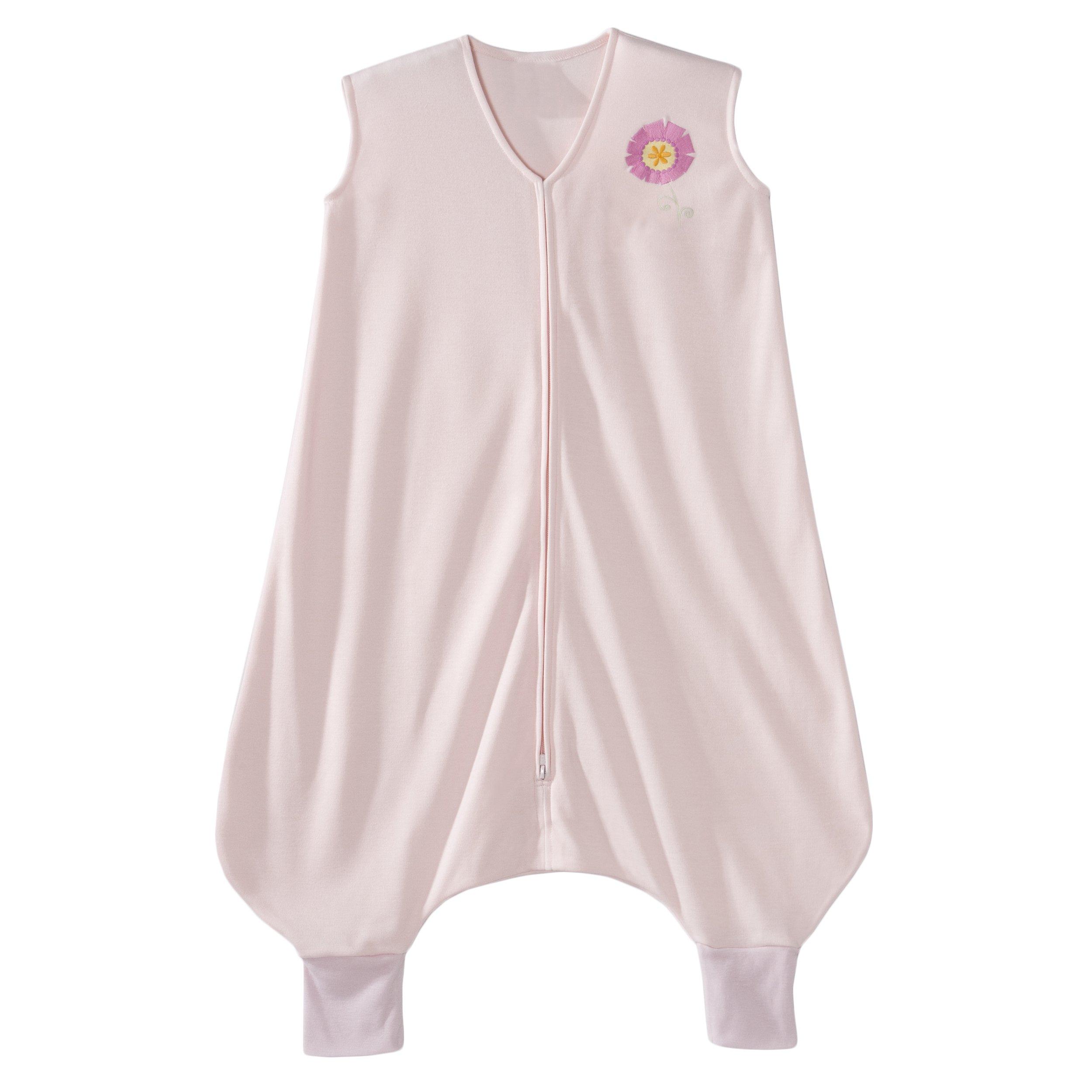 HALO Early Walker SleepSack Lightweight Knit Wearable Blanket, Pink, Medium