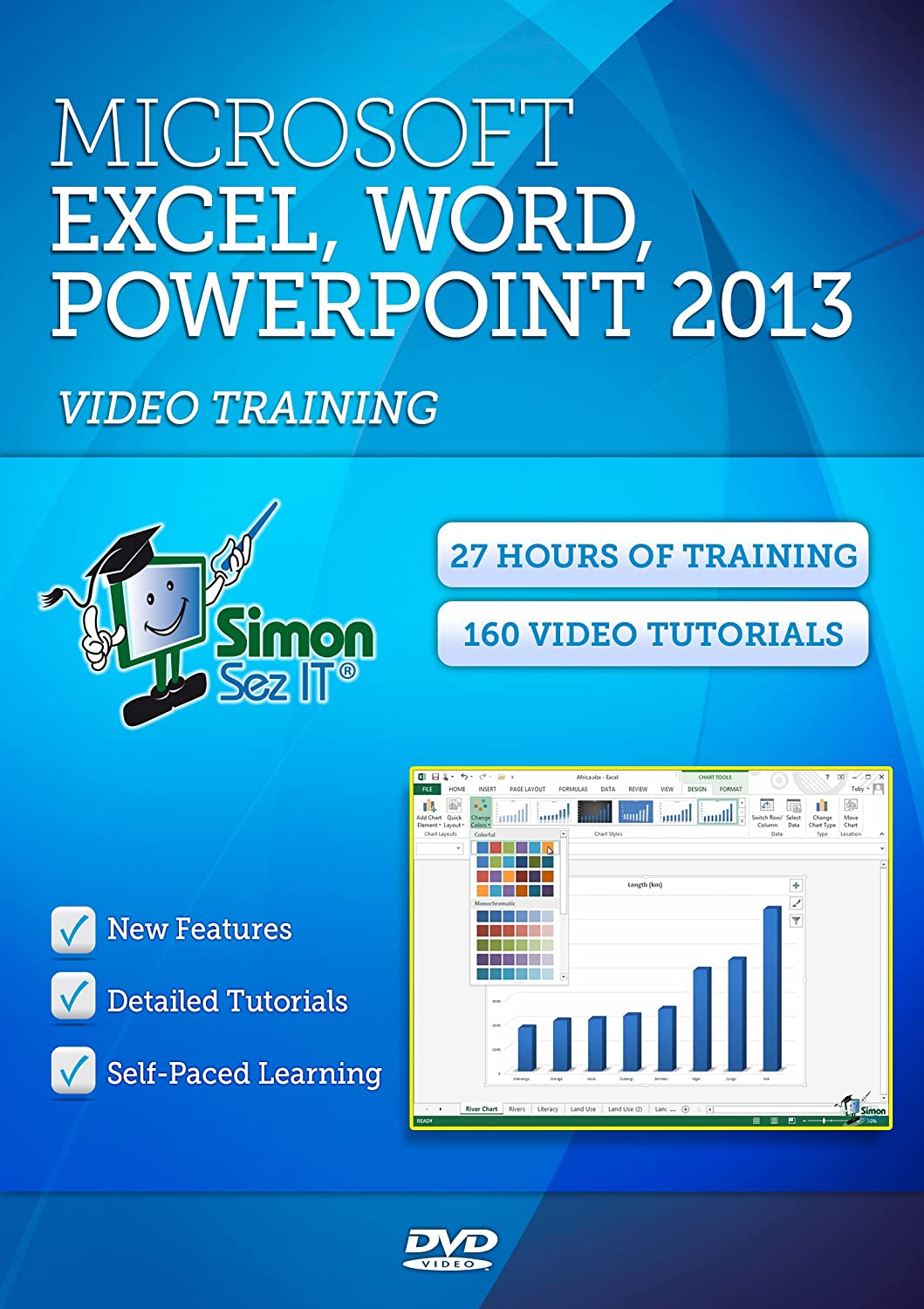 Amazon learn microsoft office 2013 training 27 hours of amazon learn microsoft office 2013 training 27 hours of video tutorials for excel word and powerpoint 2013 baditri Images