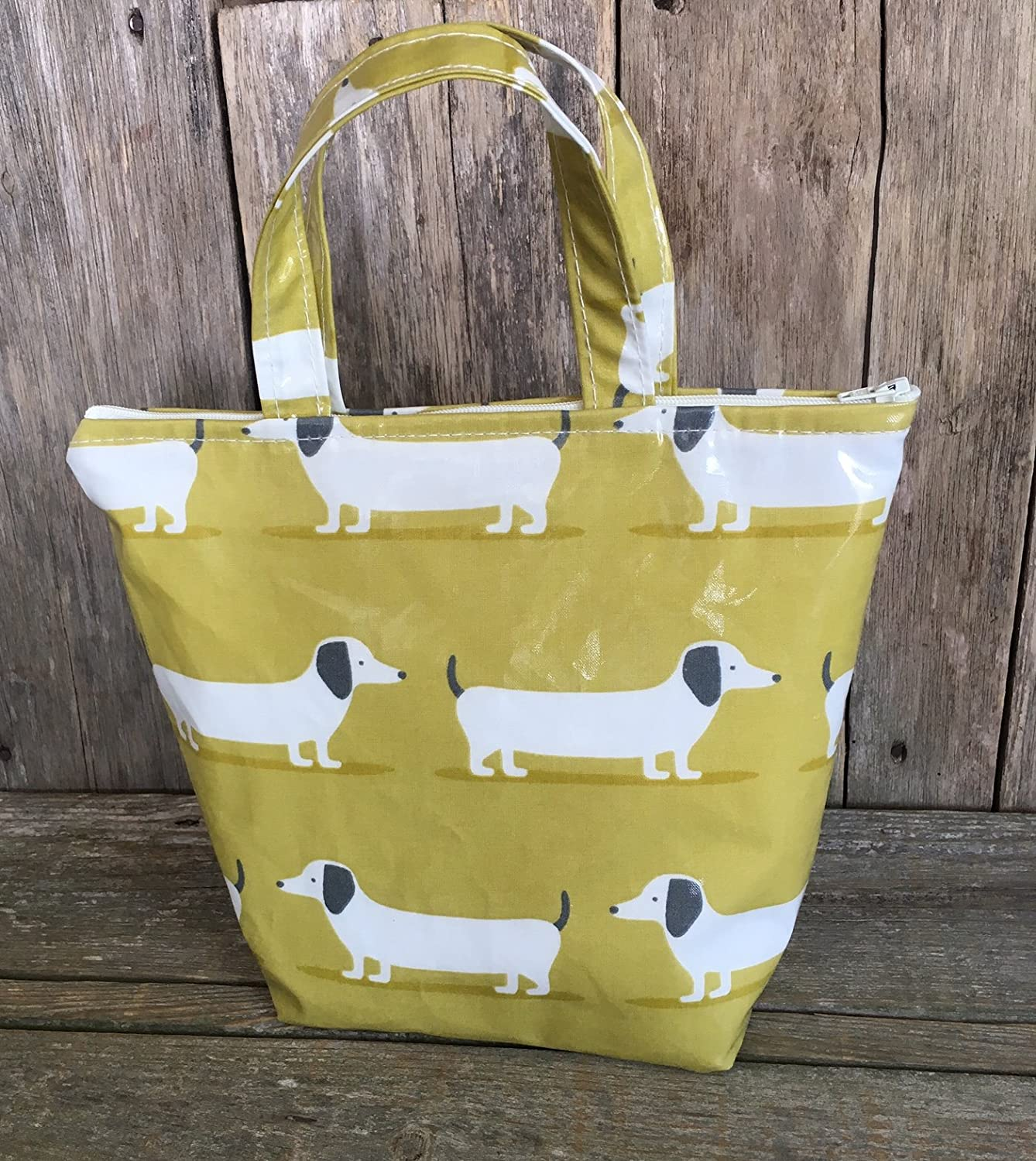 Insulated Lunch Bag,school Bag,lunch Tote,cool Bag,picnic Bag,birds Oilcloth