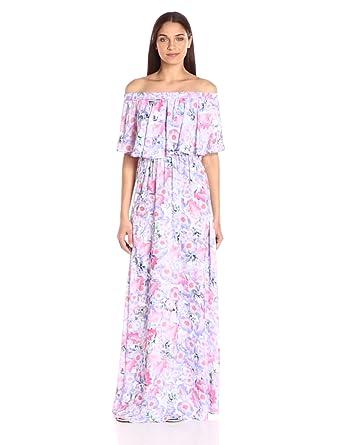 Show Me Your Mumu Women's Hacienda Maxi Dress Poppy Daze Dress