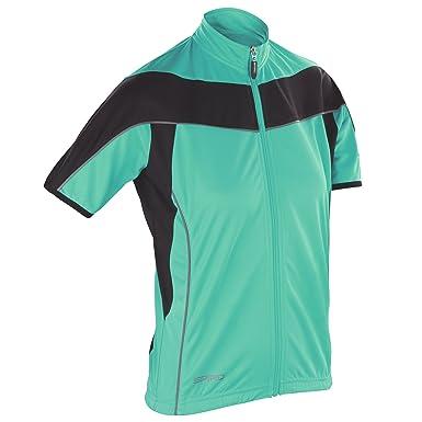 112d113bc Spiro Womens Bikewear   Cycling 1 4 Zip Cool-Dry Performance Fleece Top