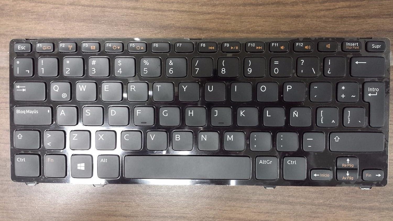 Dell OEM YMDD7 Spanish Black Keyboard MP-11K5 Inspiron 5423 5323
