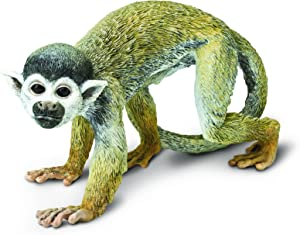 Safari Ltd. Squirrel Monkey – Realistic Hand Painted Toy Figurine Model – Quality Construction from Phthalate, Lead and BPA Free Materials – For Ages 3 and Up