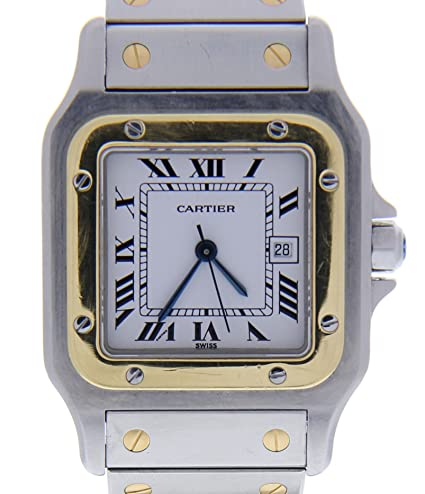 57723b42dcea3 Cartier Santos galbee Cuarzo Mujer Reloj w20012 C4 (Certificado) de Segunda  Mano  Cartier  Amazon.es  Relojes