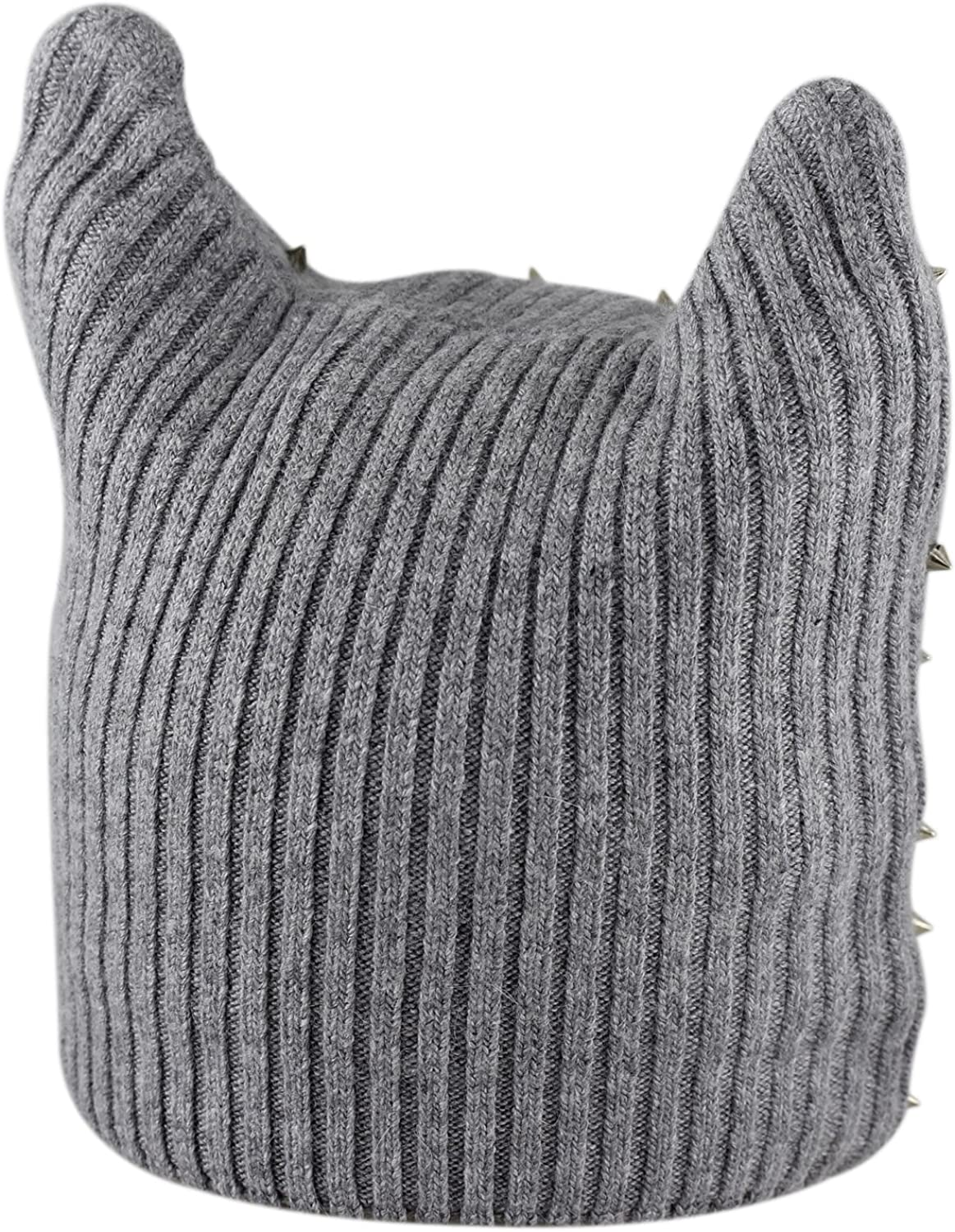 LA-EL COUTURE Girls Wool/&Angora with Beads Warm Beanie