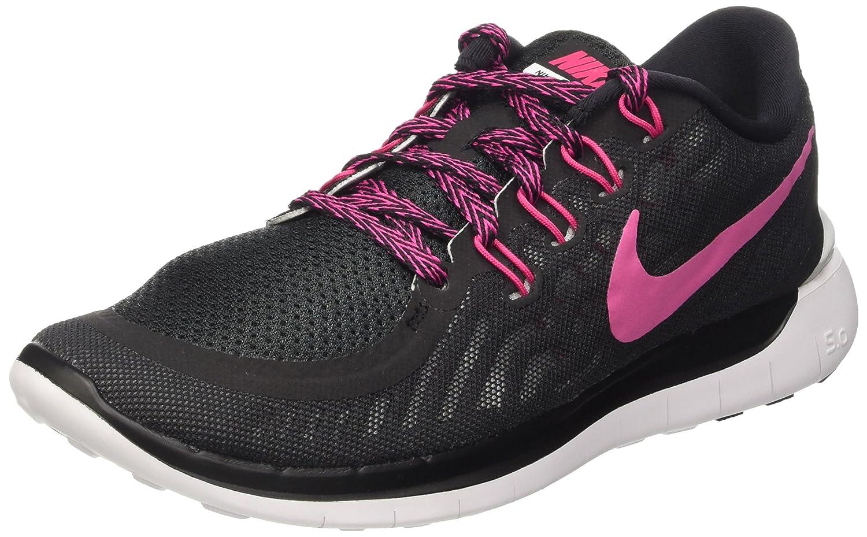 Nike - Zapatillas de running, Mujer 38 EU|Black/Vivid Pink-white