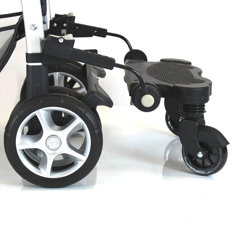Baby Travel Buggy/Stroller Ride on Board (Black) BT003