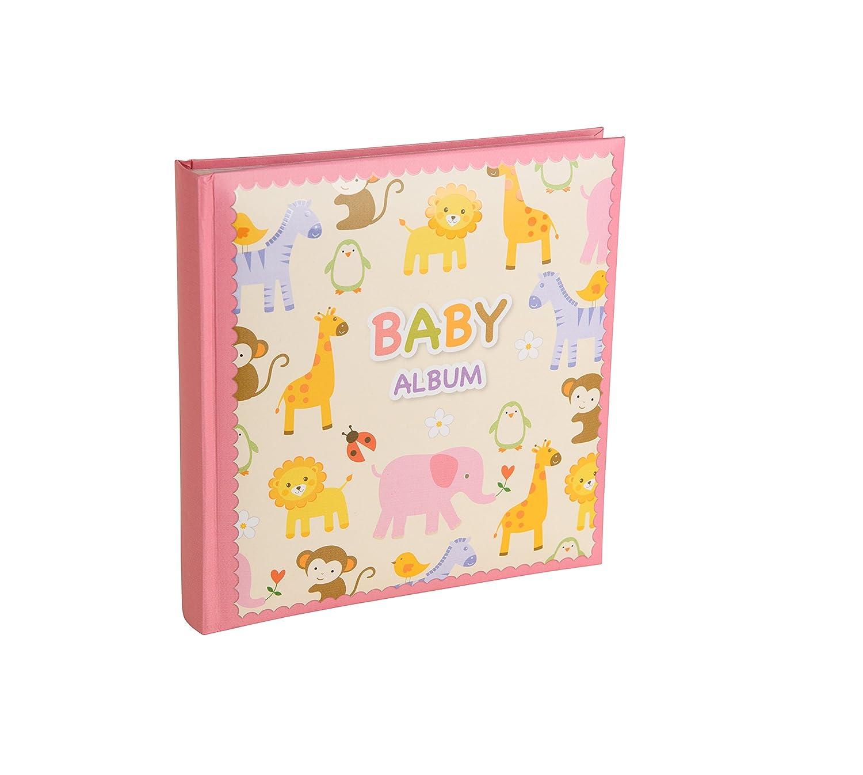 Baby Zoo Series Green Memo Album to hold 120 photos 6x4