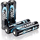 ANSMANN 1322-0005 Nickel Zinc Batterie rechargeable AA 2500mWh conditionnées par 4