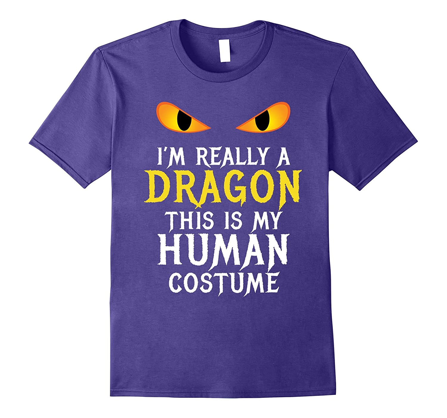 ca682557 I'm Really A Dragon Halloween Costume Shirt Easy Funny- TPT - Best Selling  T-Shirts