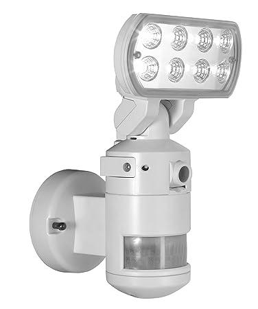 Amazon nightwatcher robotic security light with camera led nightwatcher robotic security light with camera led white mozeypictures Choice Image