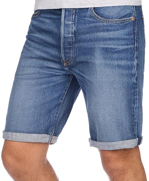 Levis 501 Hemmed Short, Pantalones Cortos para Hombre