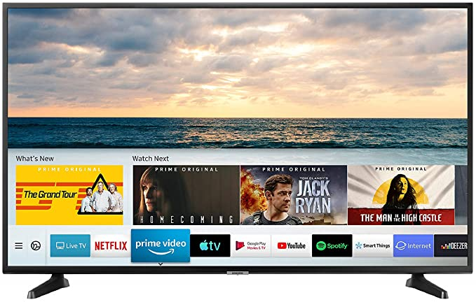 Samsung 125 cm  50 Inches  4K Ultra HD LED Smart TV UA50NU7090KXXL  Black   2019 model  Smart Televisions