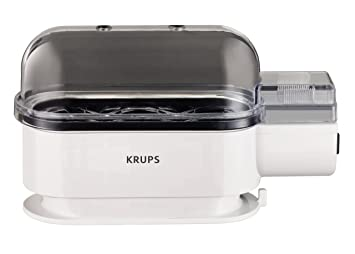 Krups F234-70 - Hervidor para huevo, 300 W, color blanco: Amazon.es: Hogar