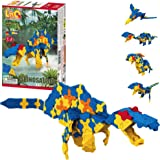 LaQ Dinosaur World Spinosaurus - 7 Models, 175 Pieces| STEM Construction Building Set | Made in Japan | Educational…