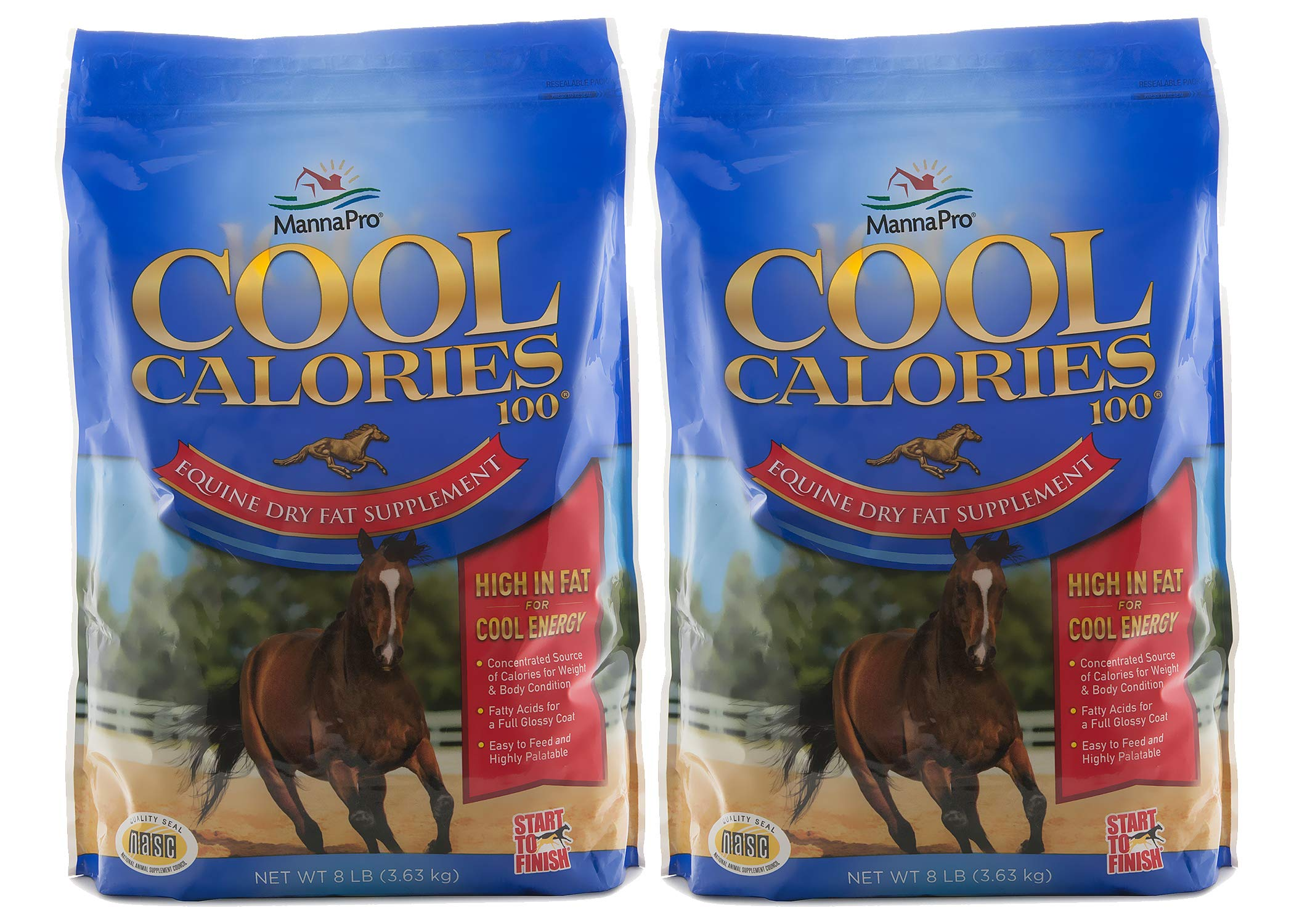 Manna Pro Cool Calories 100 Fat Supplement for Horses by Manna Pro