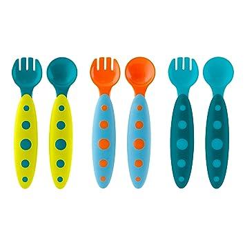Boon Modware Toddler UtensilsBlue Multi  sc 1 st  Amazon.com & Amazon.com : Boon Modware Toddler Utensils Blue Multi : Baby Eating ...