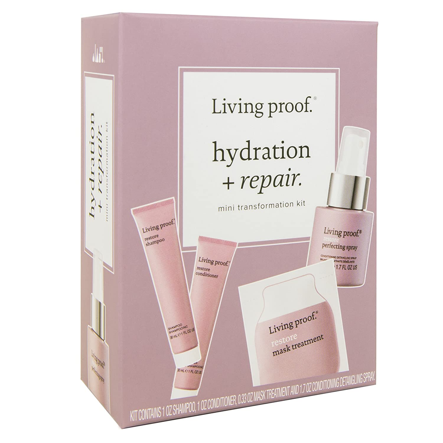 Living Proof Hydration + Repair Mini Transformation Kit by Living Proof