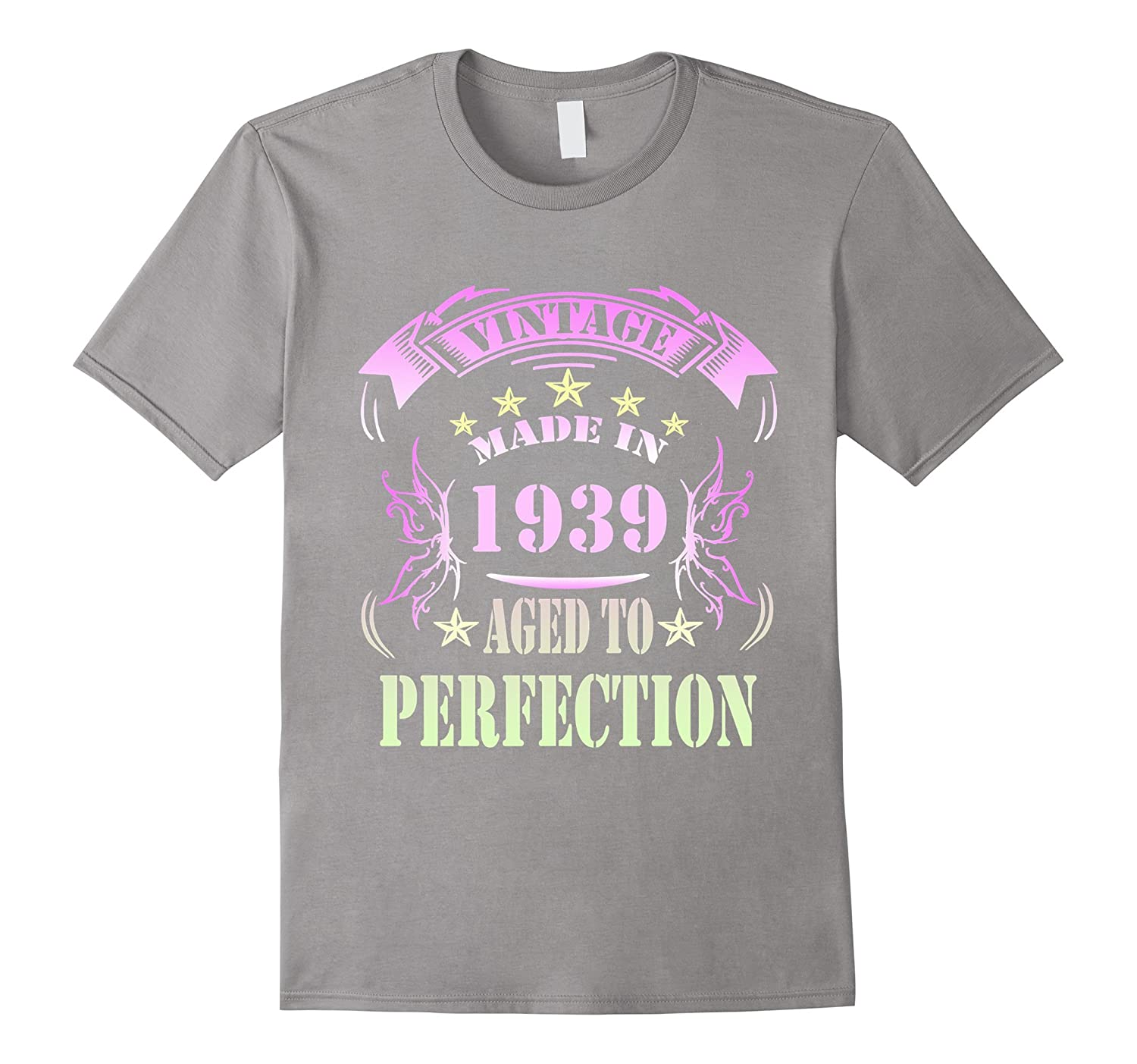 78 Birthday Vintage Made in 1939 Gift ideas Man T shirt-PL