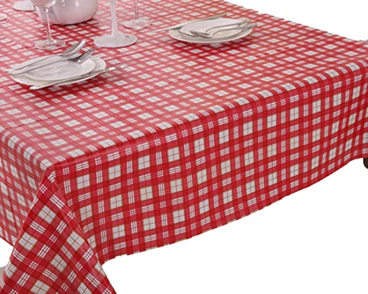 Vinylla Mantel para mesa (PVC, de fácil limpieza), diseño de ...