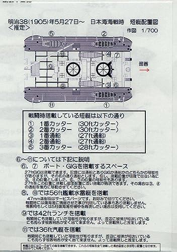 RSP-09 1:700 ��ϻ��ޡ�1905���Ϻ���å�