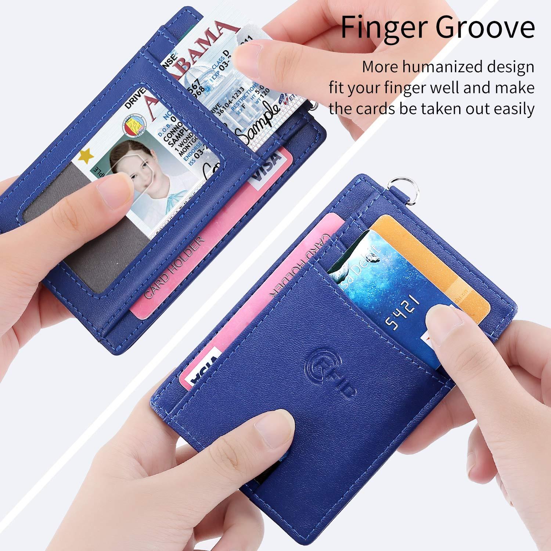pocket front wallet, RFID Ansuda RFID Women men for license card ...