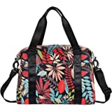 HUA ANGEL Travel Duffel Bag-Weekend Travel Tote Bag Gym Shoulder Bag Medium Size Unisex Sports Fitness Tote with Strap