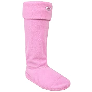 Trespass Mujer Snookie Botas de Forro Polar Suave y cálida Rosa Calcetines: Amazon.es: Deportes y aire libre