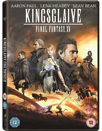 Kingsglaive Final Fantasy XV DVD 2016