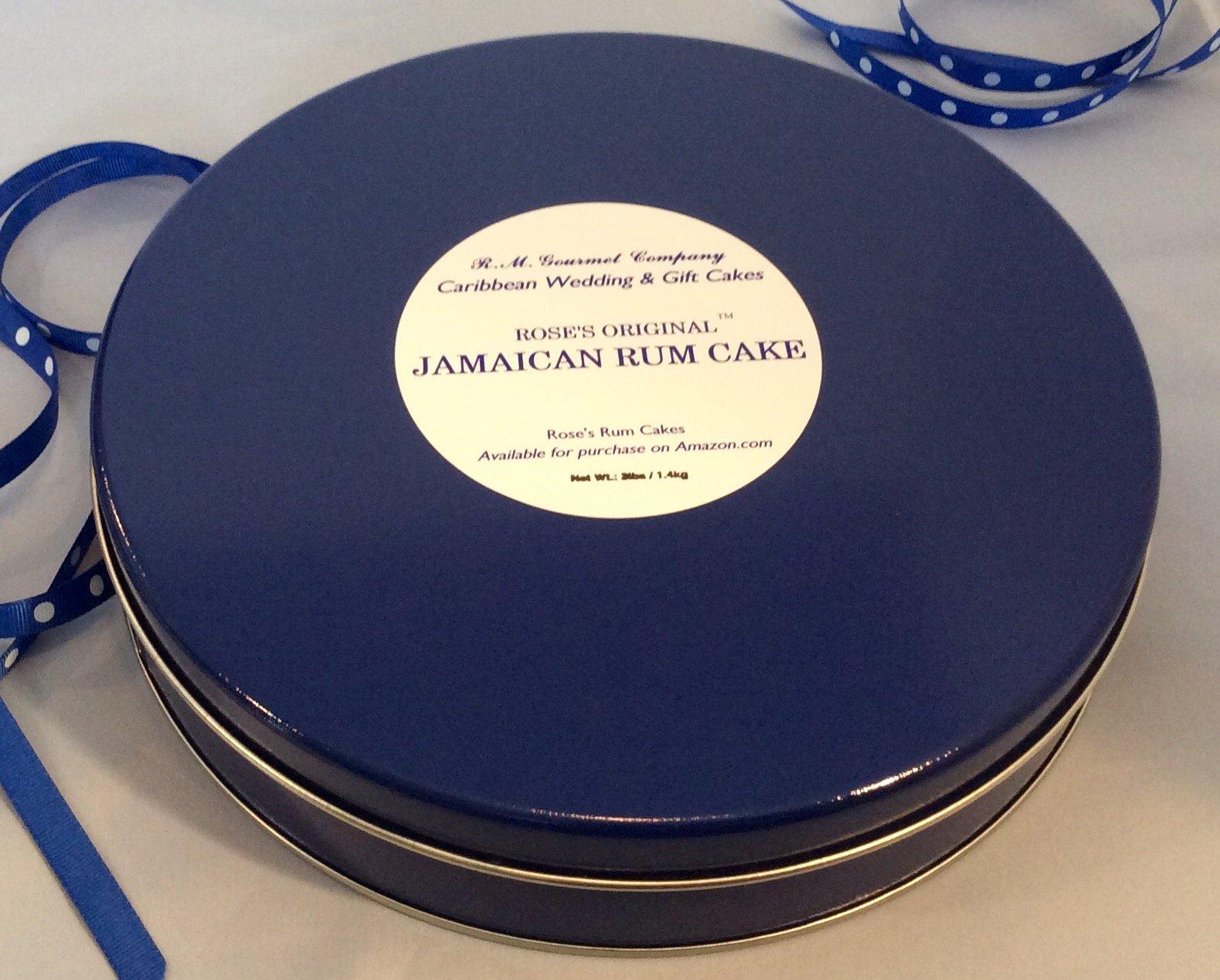 Rose's Original Jamaican Rum Cake by R.M. Gourmet Co. (3lb/1.4kg) by R.M. Gourmet Co. (Image #1)