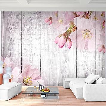 Fototapete Blumen Rosa Vlies Wand Tapete Wohnzimmer Schlafzimmer ...