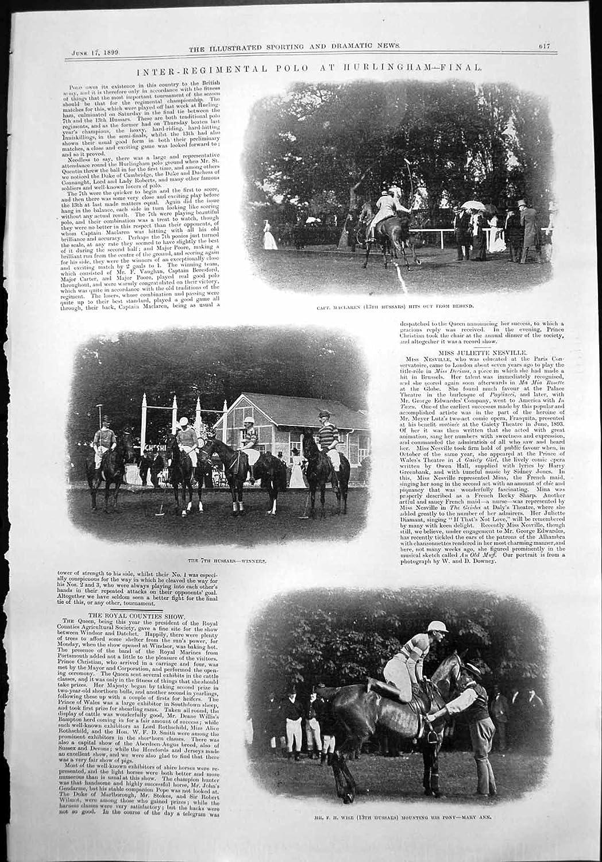 Capitán Regimental Inter Maclaren Hussars F Wise 1899 de ...