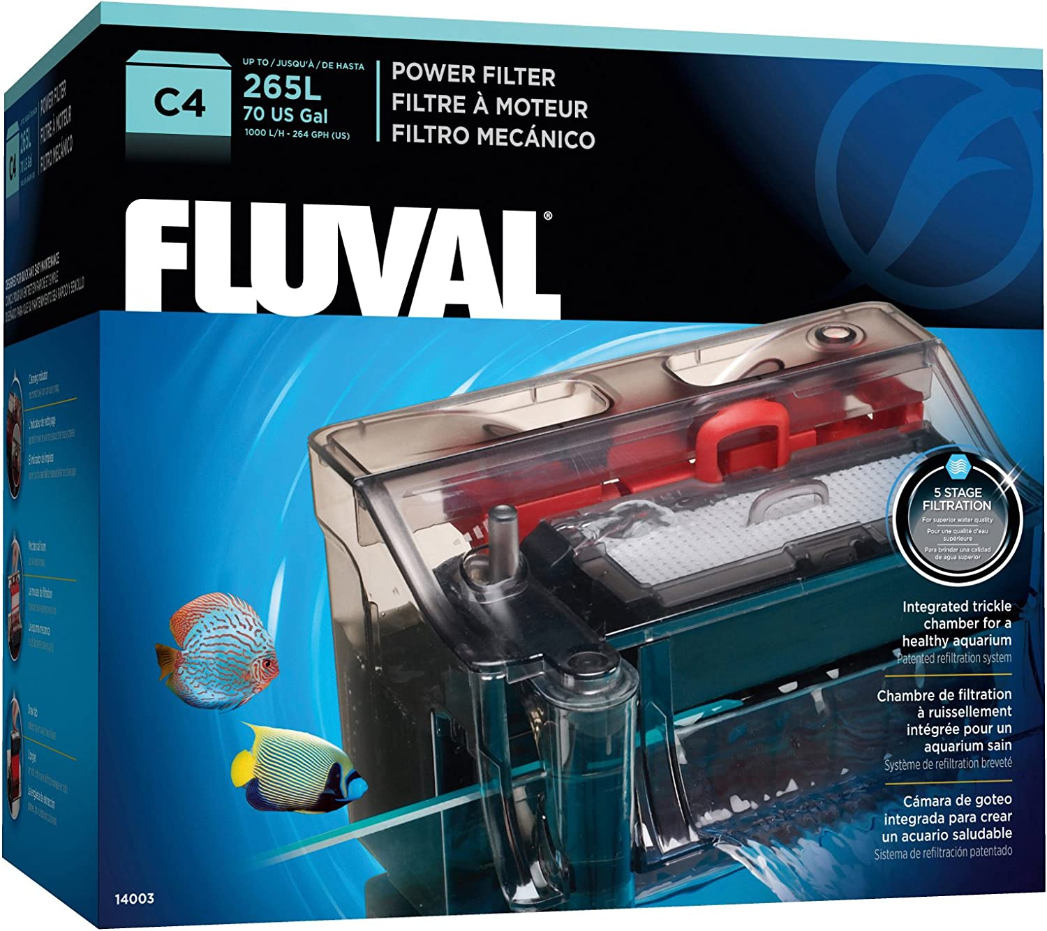 Fluval C4 Power Filter for 55 gallon aquarium