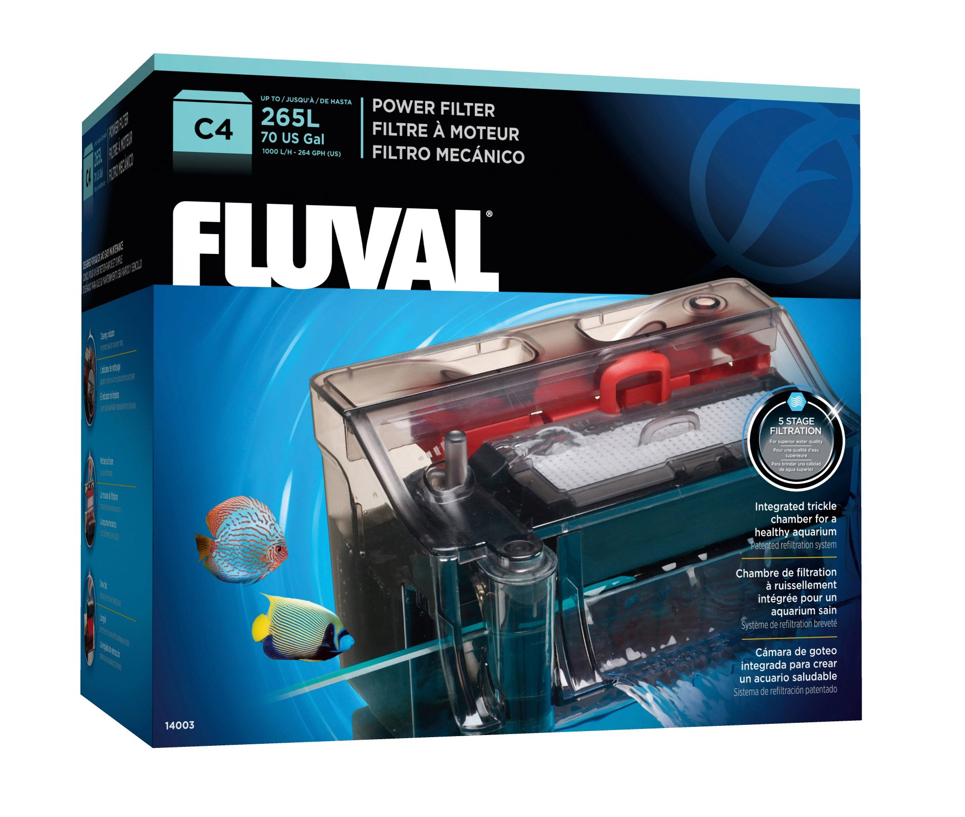 Fluval C4 Power Filter by Fluval