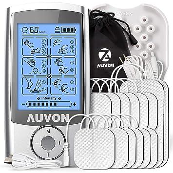 Amazon.com: AUVON - Estimulador de músculos, 2 modos Gen16 2 ...