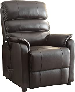 Homelegance Kellen Power Lift Bonded Leather Recliner Dark Brown  sc 1 st  Amazon.com & Amazon.com: Better Homes and Gardens Deluxe Recliner the ultimate ... islam-shia.org