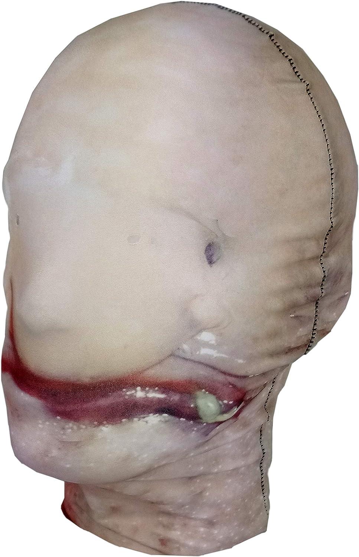 Full Head Mask Lycra Fabric Fancy Dress Blobfish Halloween Costume