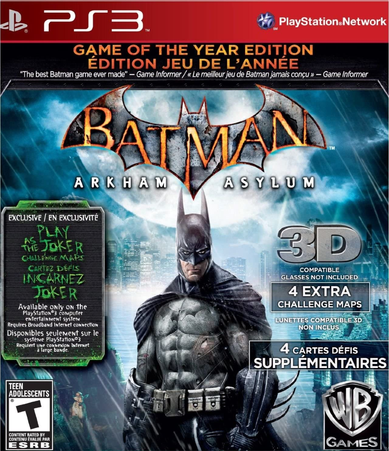 Amazon com: Batman: Arkham Asylum (Game of the Year Edition