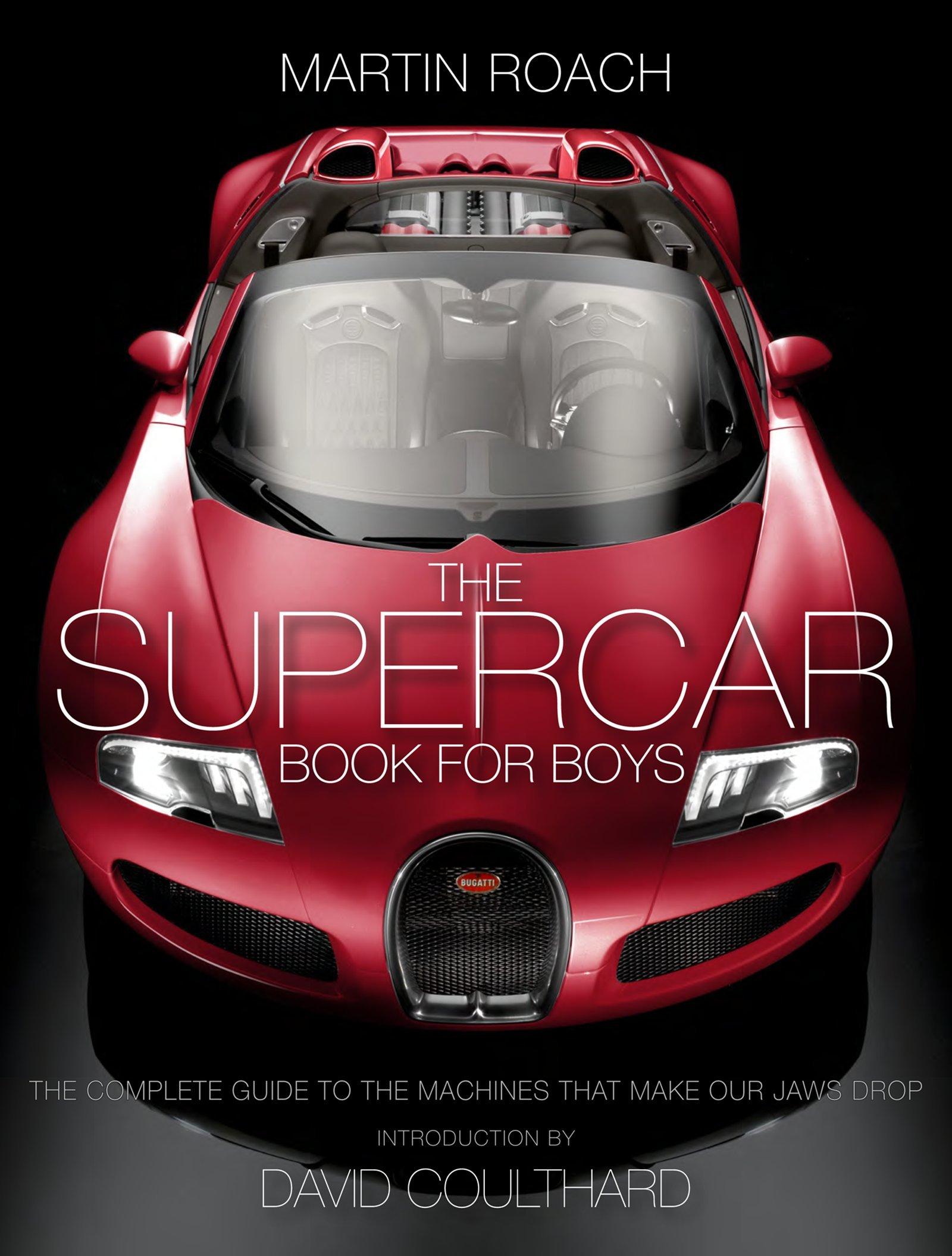 The Supercar Book For Boys Martin Roach Amazon