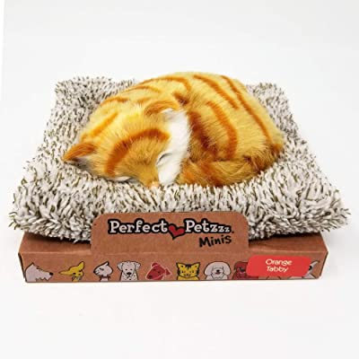 Perfect Petzzz Mini Baby Orange Tabby Kitten: Toys & Games [5Bkhe0302142]