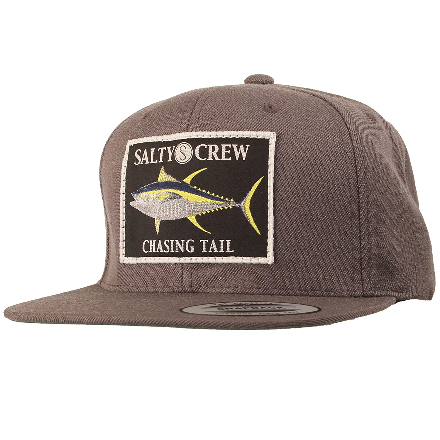 a4d747310d5 Salty Crew Men s Ahi Patched Hat - Grey -  Amazon.co.uk  Clothing