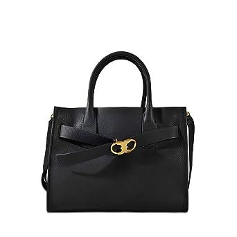 a016af92c44e Amazon.com  Tory Burch Gemini Link Ladies Medium Leather Tote Handbag  42049001  Watches