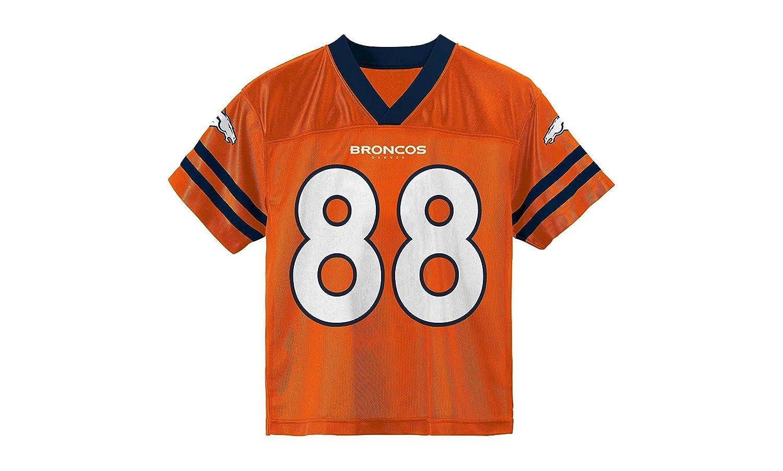 Amazon.com   Outerstuff Demaryius Thomas Denver Broncos Youth Orange Jersey    Sports   Outdoors c2757c377