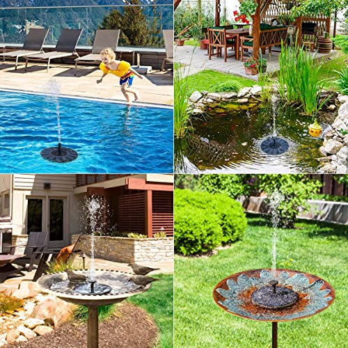 Buying guide Solar Birdbath Fountain