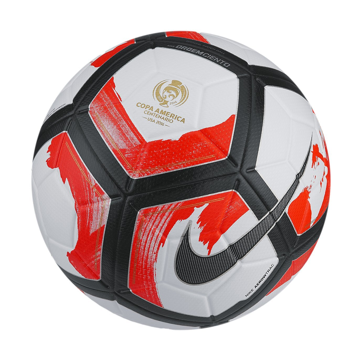 Nike Ordem ciento Bola, White/Total Crimson/Black: Amazon.es ...