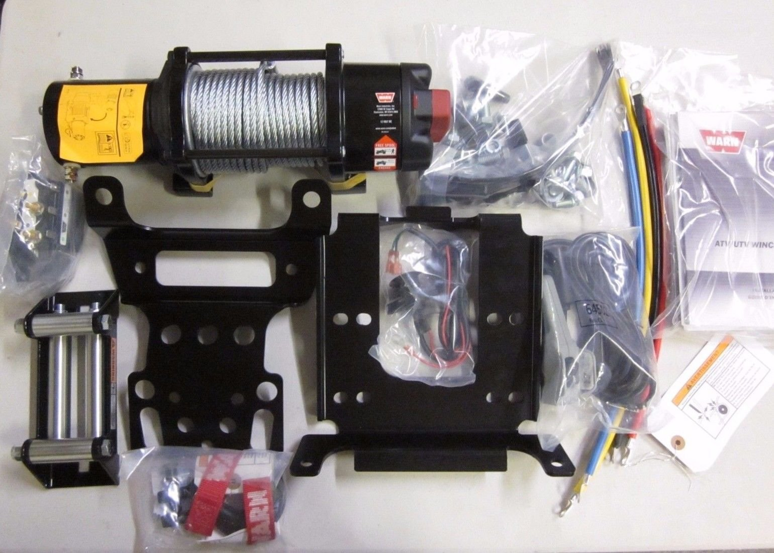 Polaris 2014-16 Ranger 570 900 1000 Crew Warn ProVantage 4500 Winch kit 2880097 by Quad Logic