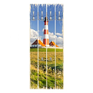 Bilderwelten Perchero de Madera - Lighthouse In Schleswig ...