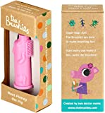 Made in the USA - baby and toddler toothbrush - Pinkey the Pig!