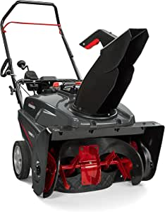 Briggs & Stratton 1022EX 22-Inch Single-Stage Snow Blower with SnowShredder Auger and Push Button Electric Start